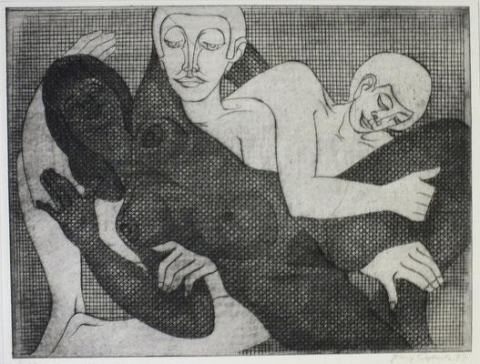Liebesspiel II 1977  39,5 x 30