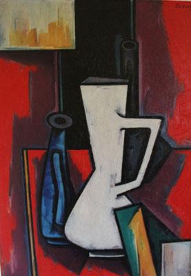 Stillleben mit Vasen