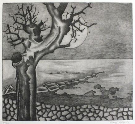 Kleine Landschaft  1976  32,5 x 29,5