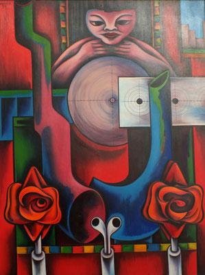 Schießbude  1971  96 x 125