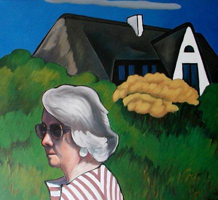 Anneliese auf Sylt  1997  97 x 90