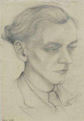 Walter Kahle ( Freund ) 1947  25,5 x 37 ( Blei )