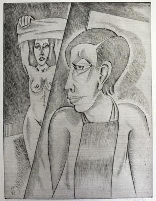 Umkleidung  1996  30 x 39