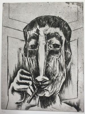 Raucher  1963  30 x 40