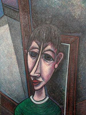 Junge am Fenster  1962  71 x 97