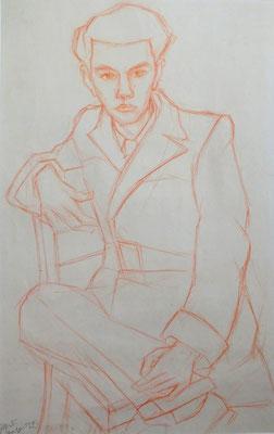 Alfred Doenicke ( Freund von Cestnik )  1949    30 x 48