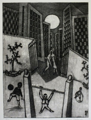 Spielplatz I  1978  30 x 40