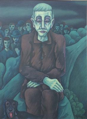 Erinnerung ( Die Straße )  1993  82 x 110