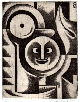 Komposition  1968  15 x 19,5