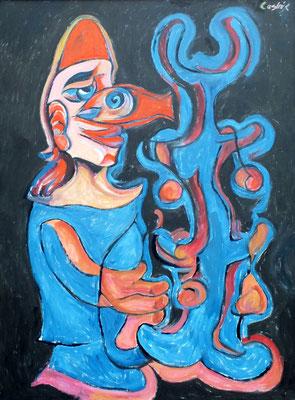 Der Wunderbaum  2009  75 x 100