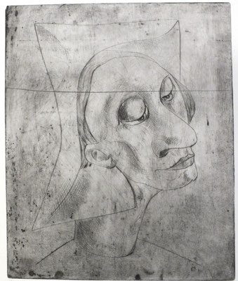 Harlekin  1956  28 x 35