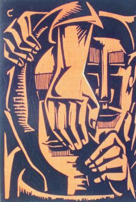 Komposition  1965    47 x 64