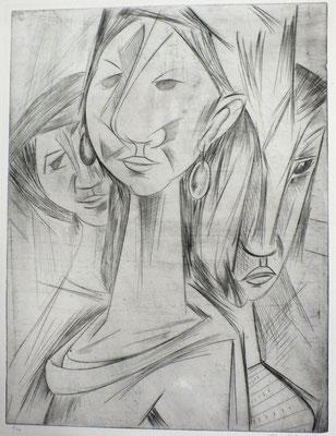 Frauen  1964  44 x 57