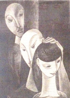 Eifersucht  1957    20 x 27
