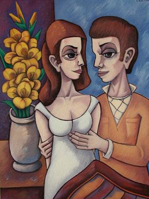Verlobung  1995  82 x 110