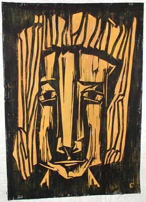 Frauenkopf  1965  44 x 63