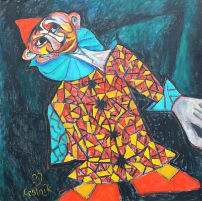 Clown  2009  100 x 100