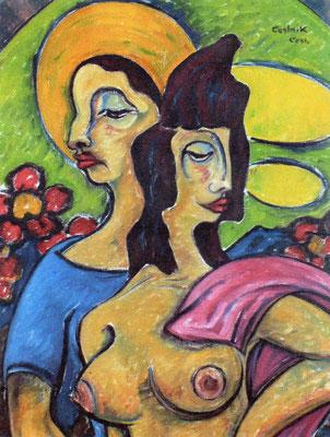 Frühling  1971  58 x 78