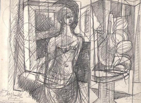 Begegnung am Fenster  1954