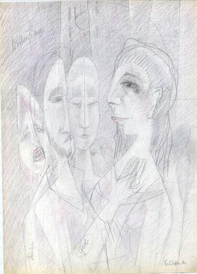 Christus und Magdalena  1988