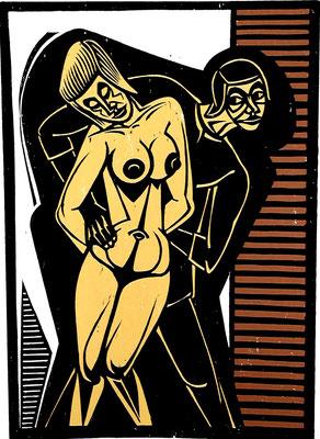 Frauenraub  1983  39 x 55