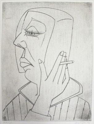 Rauchende  1992  29,5 x 39,5