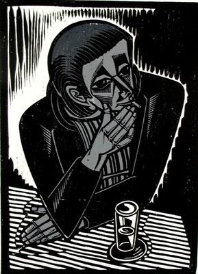 Der Trinker  1993  40 x 55