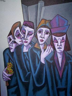 Trauer  2005  75 x 100