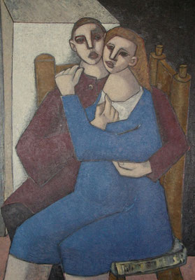 Liebespaar  1953  93 x 133
