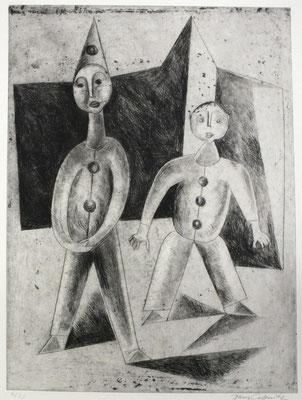 Kinderkarneval  1955  24 x 31,5           ( 2 )