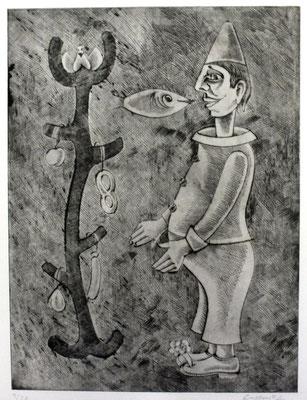 Der Wunderbaum  1985  30 x 39                ( 3 )