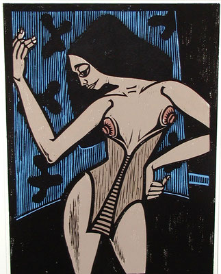Tänzerin  1982  46 x 62