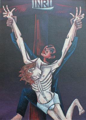 Kreuzabnahme  1982  105 x 140