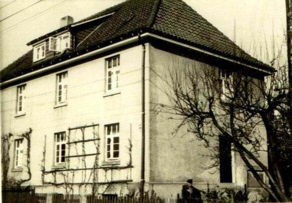 Elternhaus, Hindenburgstraße8 (nach dem Krieg ) Walter Rathenau-Str.8