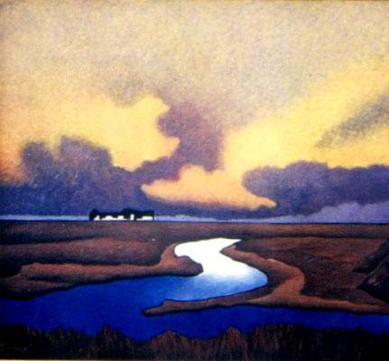 Hallig Hooge  1992    108 x 96