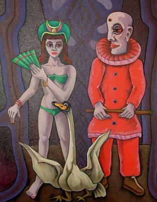 Zirkus II  1982  105 x 135