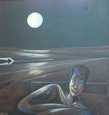 Nacht  1990  110 x 115