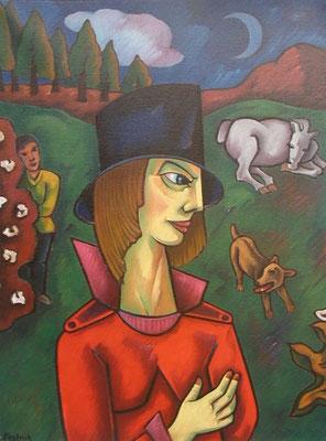 Bauernhof  1995  82 x 110