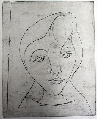 Brigitte  1963  44 x 53,5