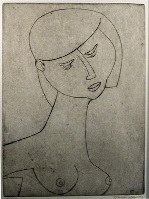 Halbakt  1957  23 x 31,5                     ( 6 )