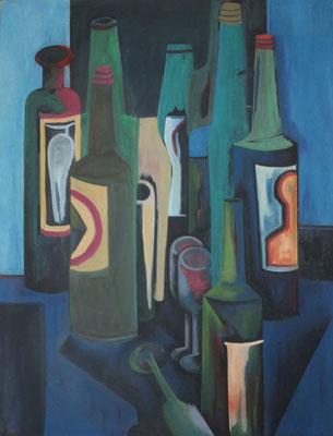Flaschen  1970    76 x 102