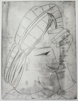Sinnende  1963  40 x 53                   ( 1 )