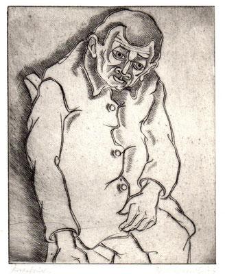 Herr Kuschbert II  1977  14,5 x 18