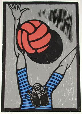 Torwart  1987  45 x 63
