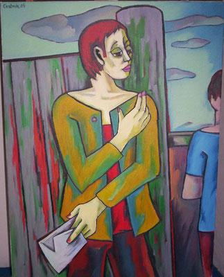 Der Architekt  2005    75 x 100