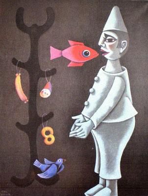 Der Wunderbaum  1985    84 x 110