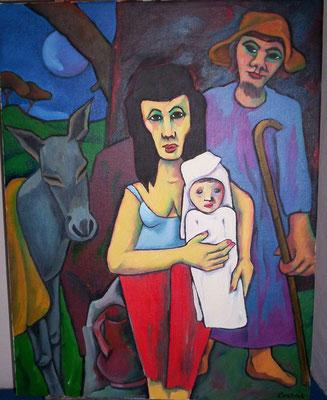 Die heilige Familie  2005  83 x 108