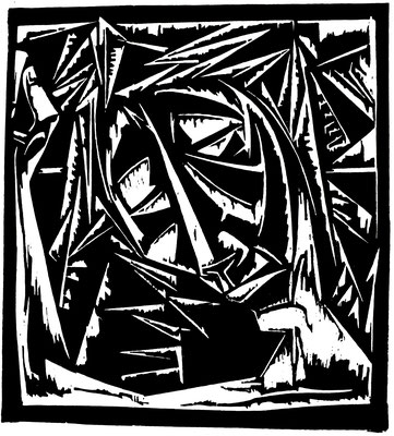 Christus  1966  44 x 48,5        Platte vorhanden