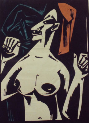 Der Besucher  1965    45 x 62