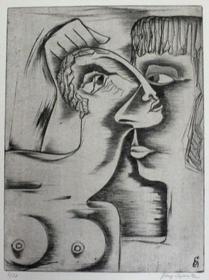 Zuneigung  1969  30 x 40           ( 2 )